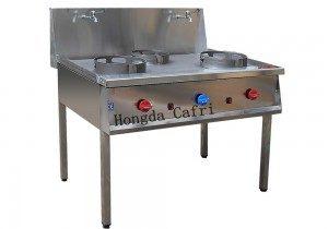 cocina wok 3 fuegos