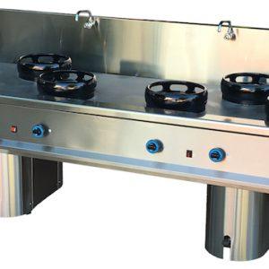 cocina wok 6 fuegos