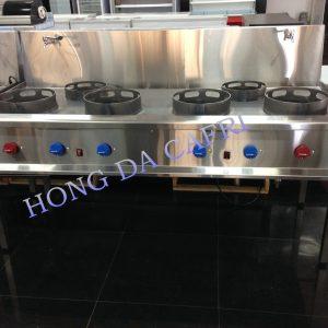 cocina wok 6 fuegos grifo