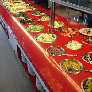 máquina de buffet 21