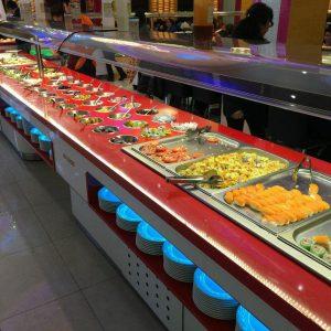 máquina de buffet 24