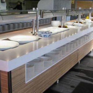 máquina de buffet 28