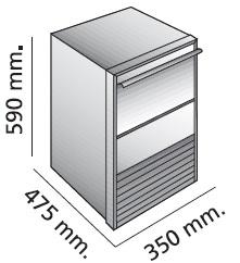 maquina de hielo orion20