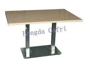 mesa para restaurante de cuarzo