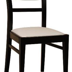 silla para restaurante madera negra