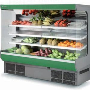 vitrina expositora refrigerada mural alimentacion