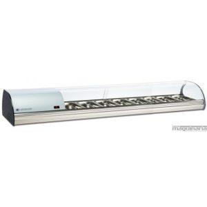 vitrina expositora refrigerada sobremostrador tapas