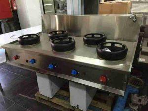 maquinaria hostelería madrid cocina wok