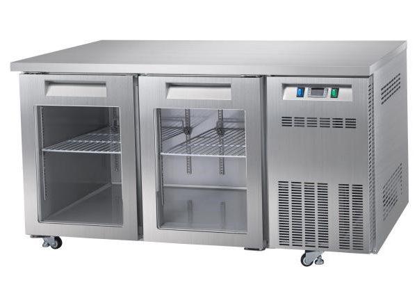 Mesa fría de refrigeracíon cristal