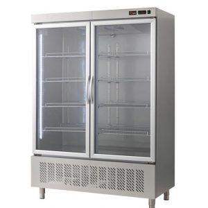 Armario de refrigeración puerta cristal