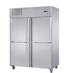 Armario refrigerado inox 4p