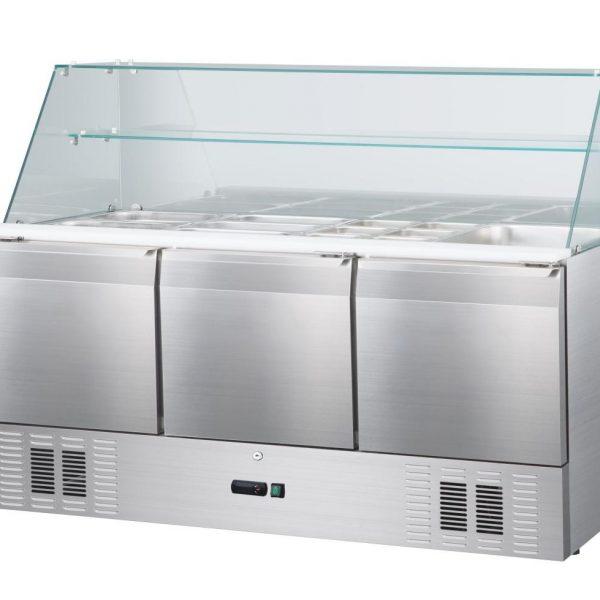 Mesa fría de refrigeracíon estante 3