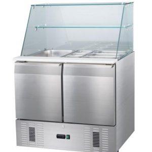 Mesa fría de refrigeracíon estante2