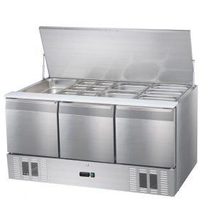 Mesa fría de refrigeracíon tapa
