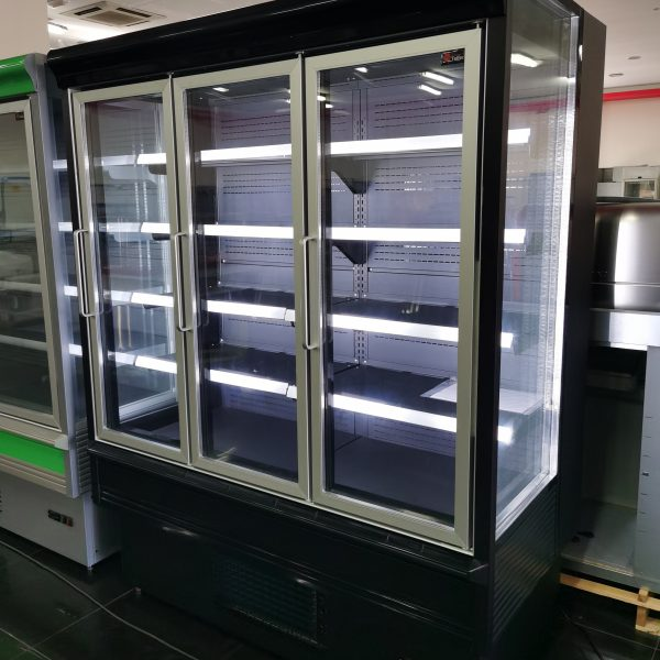 Armario de refrigeración panoramico NEGRO 3