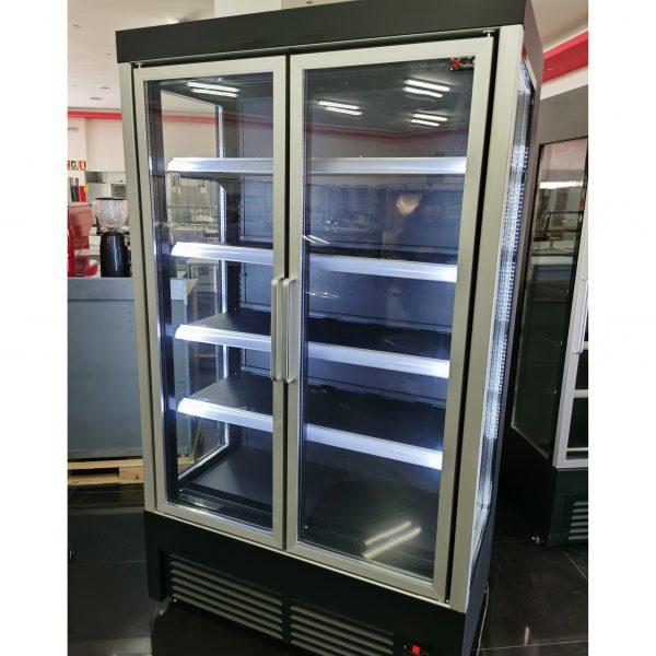 Armario de refrigeración panoramico NEGRO2