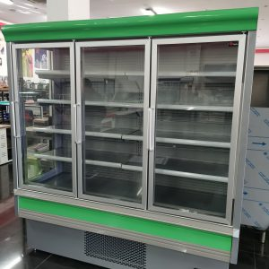 Armario de refrigeración panoramico VERDE